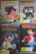 FUTURAMA SEASON 1 2 3 & 4 RARE OOP DELETED CULT ANIMATION BOX SET TV COLLECTION