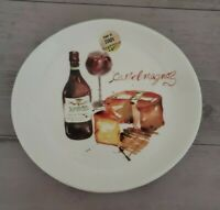 BRAND NEW (1) EFFETTI Italy Cheese Wine Salad Dessert Oblong Plate Home Decor