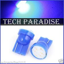 10x Ampoule T10 / W5W / W3W LED COB 3W 12 Chips Bleu Blue veilleuse lampe light