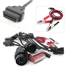 OBD2 OBDII Diagnostic Connector Adapter Cables Fit Delphi CDP ds150e O 8PCS Auto
