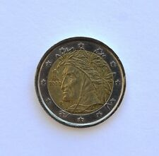 2 EURO COIN -Dante Alighieri ITALY 2002 or 2003