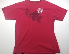 Famous Stars and Straps Men's Red Graphic T Shirt Size Extra Large XL
