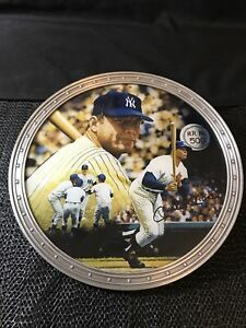 Mickey Mantle Plate Collection 1021A 500th Home Run The Bradford Exchange MLB 96