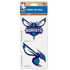 Charlotte Hornets Car Window Decal 4 Inch Decal Set