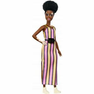 Fashionistas 135 African American Barbie New! Very Unique Doll!