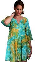 Printed Kaftan PLUS SIZE Dress Boho Dress Tie Dye Beachwear Christmas Gift Women