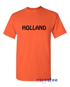 HOLLAND T-Shirt Support The Netherlands Football, on holiday, Amsterdam trip etc
