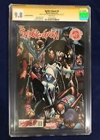 Spider-Gwen #1 Decomixado Edition CGC SS 9.8 Signed by Stan Lee & Humberto Ramos