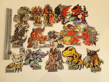 DIGIMON laser Holo Foil Stickers!  Pack of 15 large stickers!