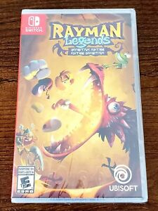 Rayman Legends: Definitive Edition for Nintendo Switch BRAND NEW in cellophane.