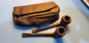 Coppia pipe Ronson con borsa, in ottime condizioni.