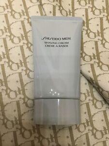 New Shiseido Men Shaving Cream 3.6 oz ~ Sealed Tube