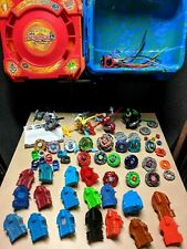 Beyblade Lot - Tops, Launchers, Ripcords, Warriors, Stadiums. Metal Fusion XTS