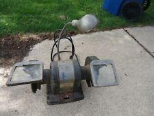 """Vintage Craftsman Block Bench Grinder 1/3 HP 6"""" 115V, 3600Rpm, 397.19580"""