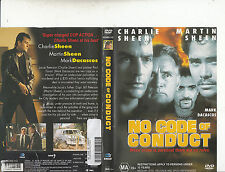 No Code of Conduct-1998-Charlie Sheen-Movie-DVD