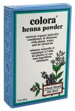 (3 Pack) COLORA HENNA POWDER HAIR COLOR WHEAT BLONDE 2 Ounce
