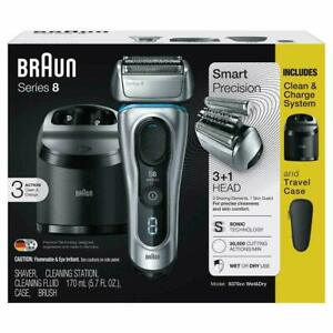 Braun Series 8 Wet/Dry Electric Shaver with Travel Case