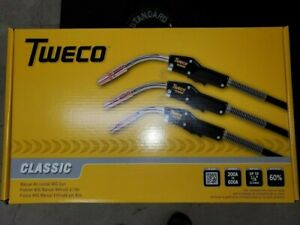 Tweco Classic 250 amp Mig gun 15' NEW Fits Miller machines FREE GIFT