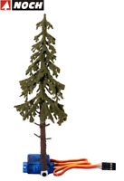 "NOCH H0/TT 21929 micro-motion Fallender Baum ""Wetterfichte"" - NEU + OVP"