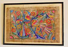 T1 Oeuvre - Art Contemporain - Déco oiseaux - Couleurs