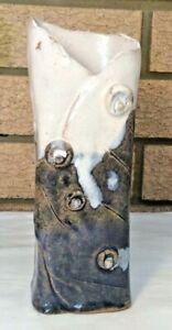 Australian Blue Gum Pottery Vase