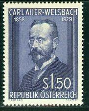 Österreich 1954 Michel Nr. 1006 25. Todestag von Carl Freiherr Auer Ritter von W