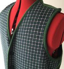 Moda Di Segno Men's Green Vest #96