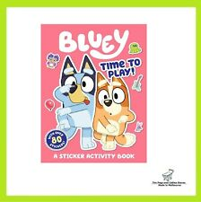 Bluey: Time to Play!: Sticker Activity Book (Paperback)