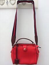 Next Handbag Red Satchel Crossbody Bag Excellent Condition