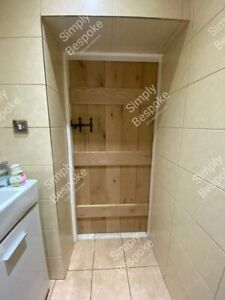 RUSTIC OAK LEDGED DOORS ~ ALL SIZES MADE ~ BESPOKE ~ CHARACTER ~ CHARM ~ COTTAGE