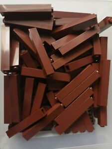 17x LEGO Reddish Brown Brick 1x1 x5 ( 2453b ) Part Piece New Ref:434