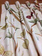 Lewis y madera Adams cortinas plisadas de Eden cáliz hecho a la medida