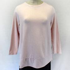 NEW Pure Jill J Jill Woman Plus Cozy Pink Top Blouse Stretch w/pockets 3X