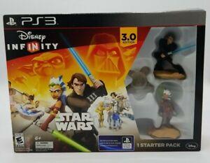 Star Wars Disney Infinity 3.0 Starter Pack Sony PS3 Figures Set BRAND NEW SEALED