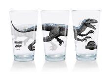 Mondo Alamo Drafthouse Jurassic World Fallen Kingdom Pint Glass McCarthy IN HAND