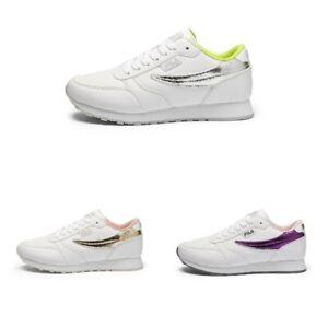 Fila Orbit F Low Damen Sneaker   Turnschuh   Sportschuh   Leder - NEU