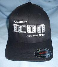 American Icon Autographs FlexFit Black Baseball Hat Cap L-XL AIA MMA Walkout SD