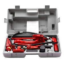 4 Ton Hydraulic Jack Air Pump Lift Porta Power Ram Repair Tool Kit Set