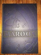 Champaign High School Illinois ORIGINAL 1941 yearbook history genealogy