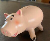 DISNEY TOY STORY HAMM PIGGY BANK CERAMIC NEW AUTH DISNEY 9 INCH