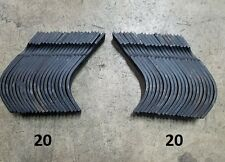 20 Each LH&RH Replacement Tines for Bush Hog RTS/RTL Tiller # 64454 and 64452