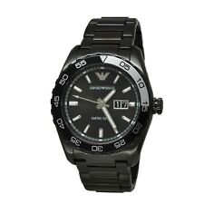 Emporio Armani Men's AR6049 Black