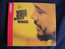 CD – CHARLIE MINGUS : MINGUS MINGUS MINGUS MINGUS – IMPULSE JAZZ 1963 – 2006