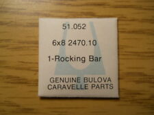 Genuine Bulova Caravelle 6X8 2470.10 Factory Replacement Part 51.052 Rocking Bar