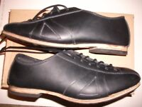Leather cycling shoes vintage classic eroica retro style All leather