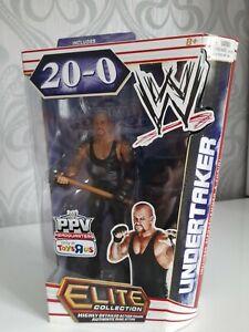 WWE MATTEL ELITE WRESTLEMANIA UNDERTAKER 20-0 TOYS R US EXCLUSIVE RARE