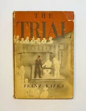1948 THE TRIAL by Franz Kafka, 1st Edition with Dust Jacket, Illustrated, VG