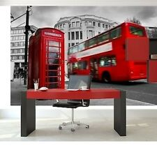Mural wall sticker - LONDRES - 12 pi x 8 pi art deco decor adhesif