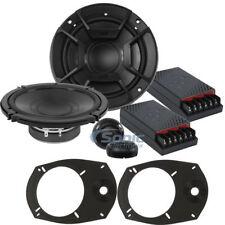 "Polk Audio DB6502 600W Peak DB+ 6.5"" Component Speakers + 6x9"" Speaker Adaptor"