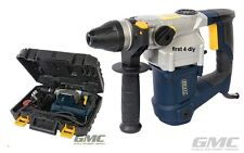 GMC 240v 3 Function 1000w SDS Plus Rotary Hammer Combi Drill Breaker Chisel